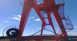 Outdoor Gantry Crane Electrical Parts Use in Summer