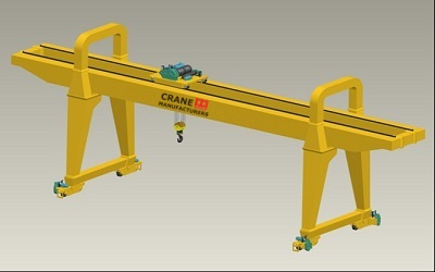 Industrial Gantry Cranes for Sale Price - 40 Ton