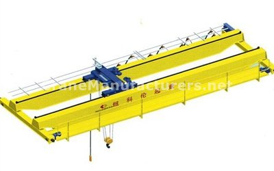 Overhead Bridge Crane Specifications Design Drawing