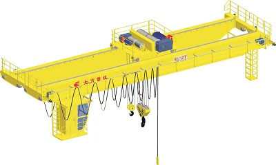 Double Girder EOT Crane Specifications, Design Drawing