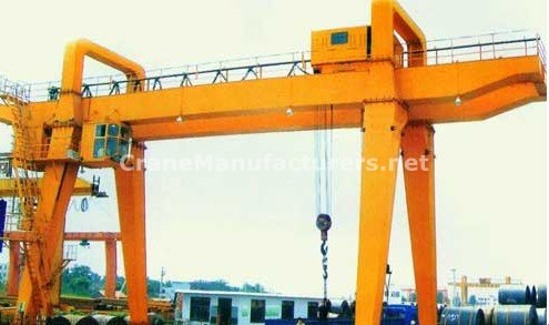 Double Girder Gantry Crane Manufacturers - 20 Ton Specifications Design