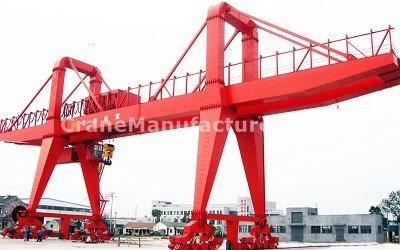 Double Girder Gantry Crane Manufacturers - 100 Ton Specifications Design