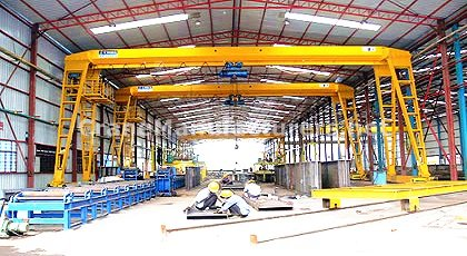 2 Ton Small Gantry Crane for Sale Price
