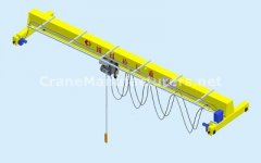 20 Ton Single Girder EOT Crane Specifications